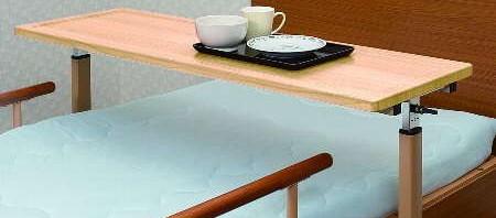 病室・居室で使用するベッドサイドテーブル