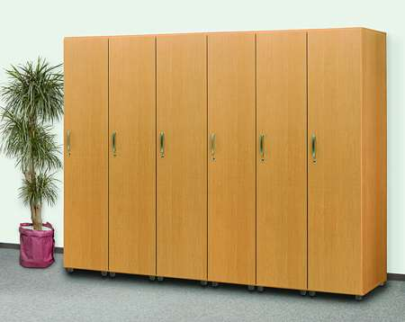 介護施設・福祉施設や病院施設向け木製ロッカー