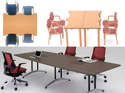 介護テーブルと会議用テーブルの違いについての考察